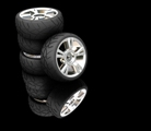 BR and SBR are used in the manufacture of tyres for the automobile industry.