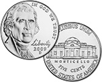 Two US nickels