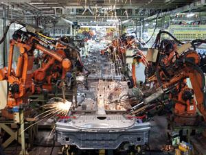 Hyundai plant, Rex Features