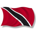 The flag of Trinidad