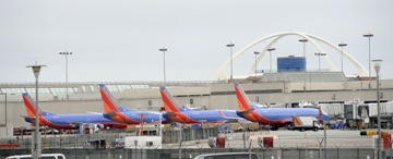 Southwest Ailrines jets