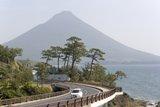 coastal road in Japan