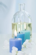 Paraffin wax is used in making candles