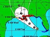 Isaac to hit Louisiana Gulf coast as a hurricane