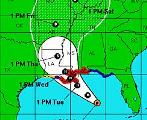 Isaac nears US Gulf coast