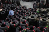 SBR goes into the production of tyres for the automotive industry.