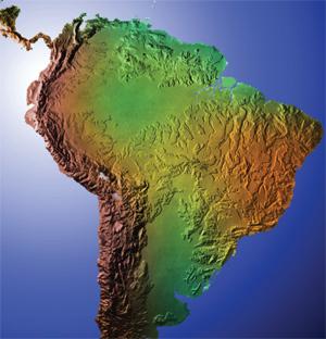 Latam map