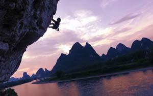 Rock climbing Rex