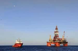 Oil rig Rex