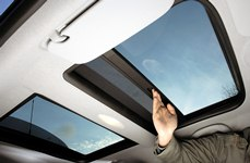 Car sunroofs a new application for PC