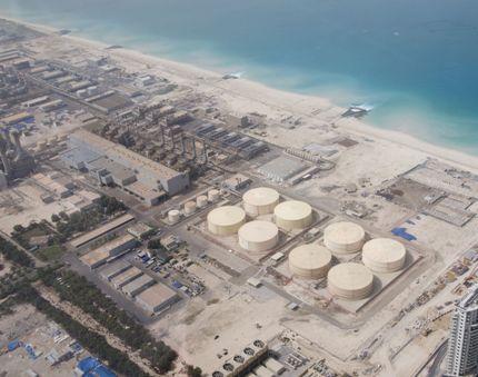 Desalination plant in Dubai
