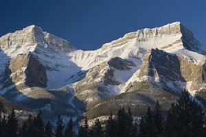 Snowy peaks Rex Features