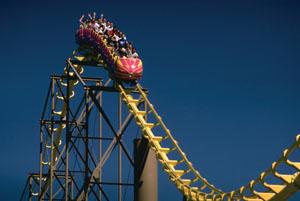 Roller Coaster Rex Features