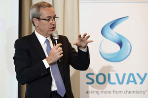 Solvay CEO Jen-Pierre Clamadieu Belga/PA