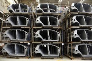Automotive production Rex Features