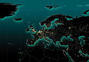 EU map Alamy