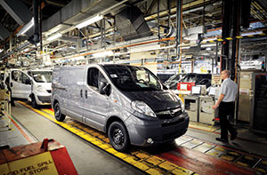 Van production Rex Features
