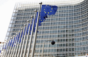 EU building Rex Features