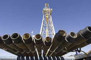 Shale gas pipes Rex Features