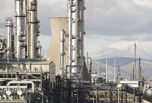 Ineos Grangemouth plant Rex Features