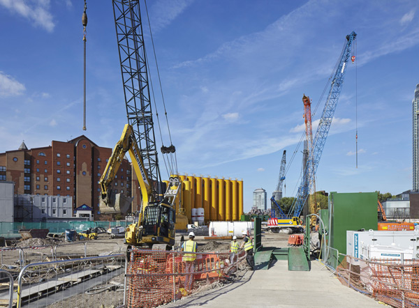 Construction site Rex Features