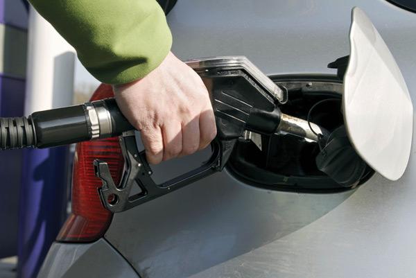 filling up a car Rex Features