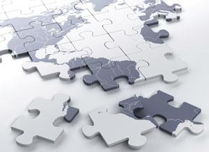 map jigsaw Rex Features
