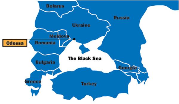 USSR map