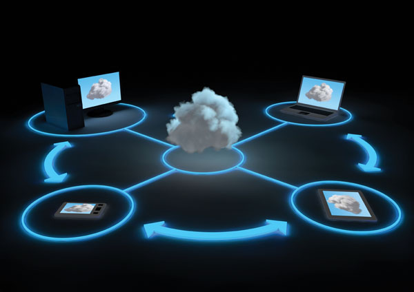 cloud computing Alamy