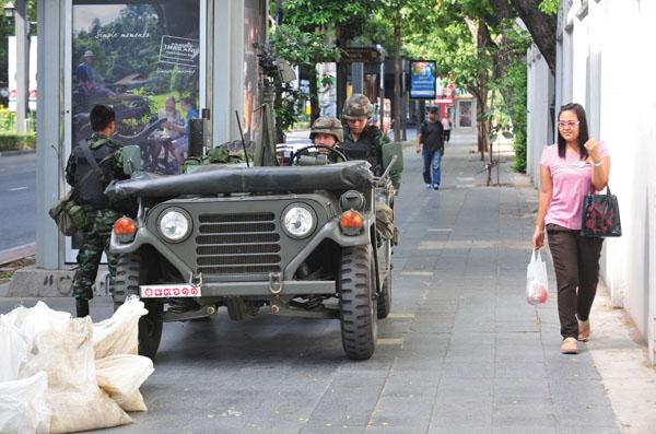 Thai army Rex Features