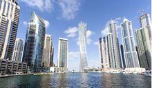 New buildings in Dubai, UAE