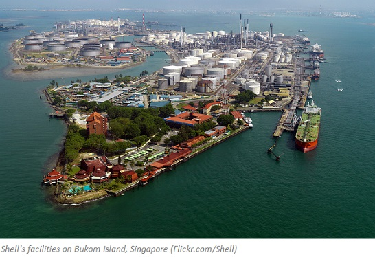 The Shell Eastern Petrochemicals Complex integrated refinery and petrochemicals construction project included the building of a new world-scale ethylene cracker on Bukom Island, Singapore
