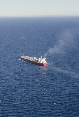 Photographer Cultura/REX/Shutterstock VARIOUS Aerial view of oil tanker (ULCC - Ultra Large Crude Carrier) at sea 10 Jul 2014