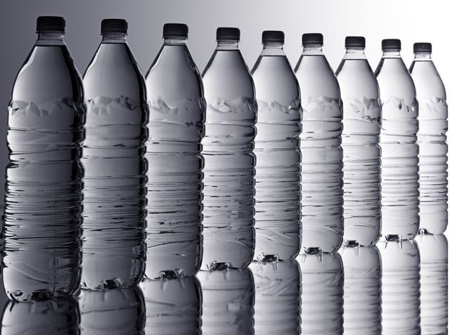 Mineral water plastic bottles - 30 August 2016