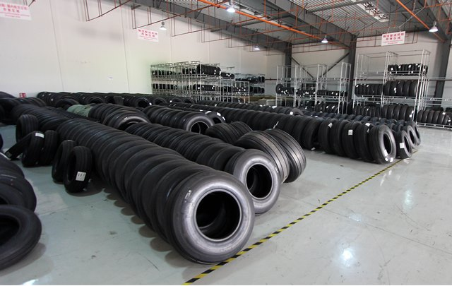 China tyre factory in Quanzhou