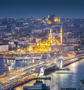 Turkey, Istanbul, view to Galata Bridge and New Mosque. Source - WestEnd61, REX, Shutterstock