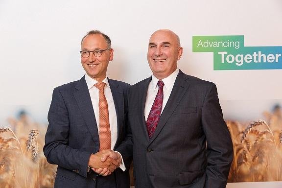 Bayer and Monsanto CEOs. Source - Bayer