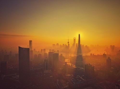 Shanghai skyline (image source: Imaginechina/REX/Shutterstock)