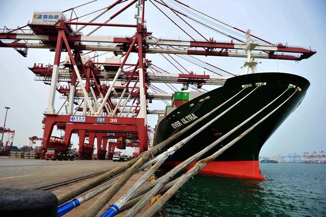 Port of Qingdao 13 October 2016