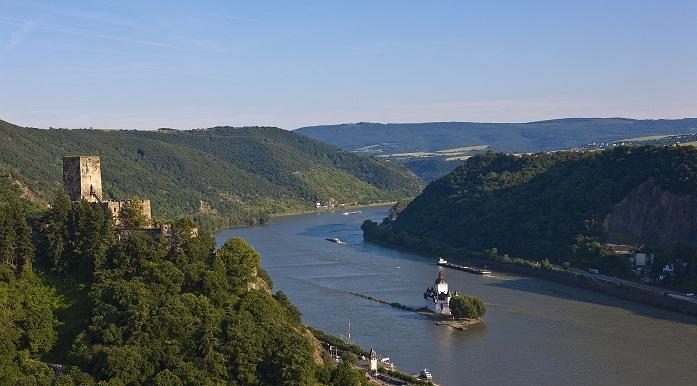 River Rhine Castle