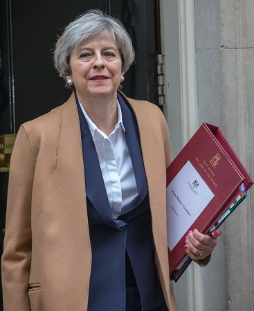 Theresa May Article 50 day (Source: Mark Thomas/REX/Shutterstock)