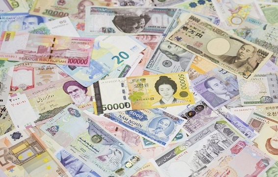 Top image: International banknotes, South Korean Won banknote at the centre Photographer: XYZ PICTURES / imageBROKER/REX/Shutterstock