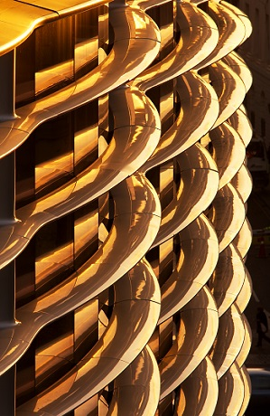 Polymer façade on the Walbrook building, London (Source: Hufton + Crow / View Pictures/REX/Shutterstock)