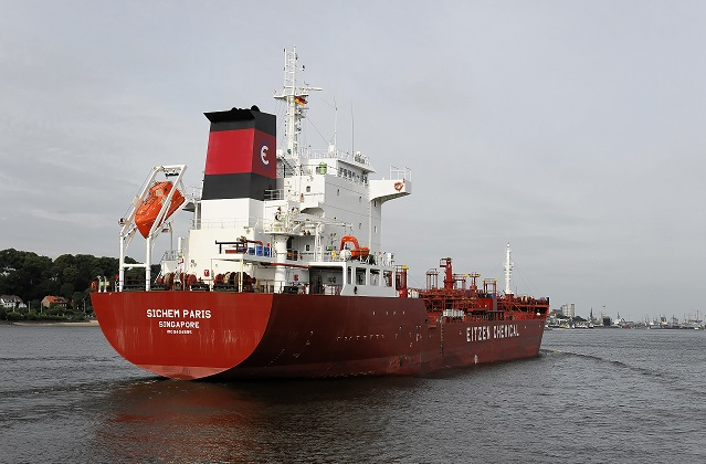 chemical tanker 28 April