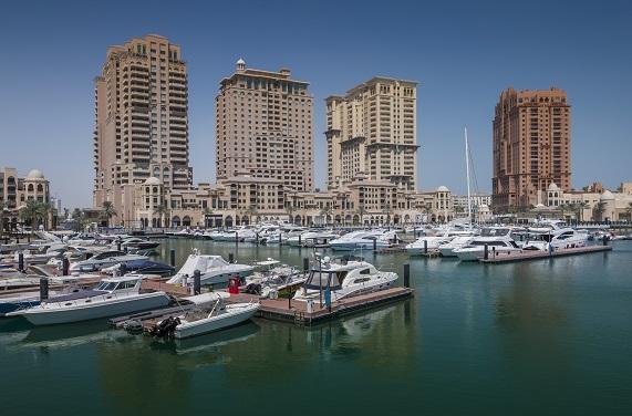Photographer: imageBROKER/REX/Shutterstock Marina, The Pearl, Doha, Qatar, United Arab Emirates