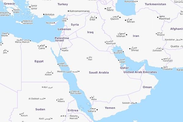 GCC map 12 June
