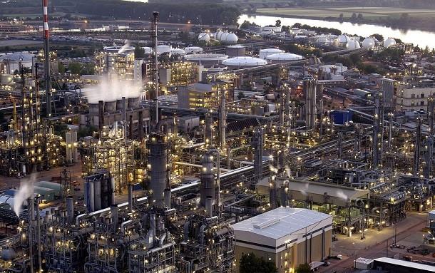 BASF Ludwigshafen panoramic. Source - BASF