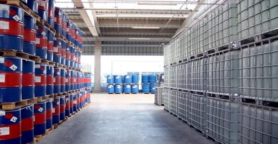 Brenntag warehouse. Source - Brenntag