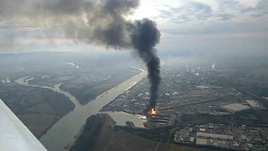 The fire at BASF