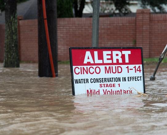 Hurricane Harvey aftermath, Texas. Source - John Glaser, Cal Sport Media, REX, Shutterstock